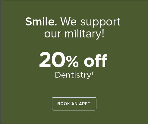 Dentists of Mansfield - Military Discount